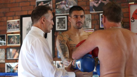 Picture Special: Kolarov and Chappy in the ring