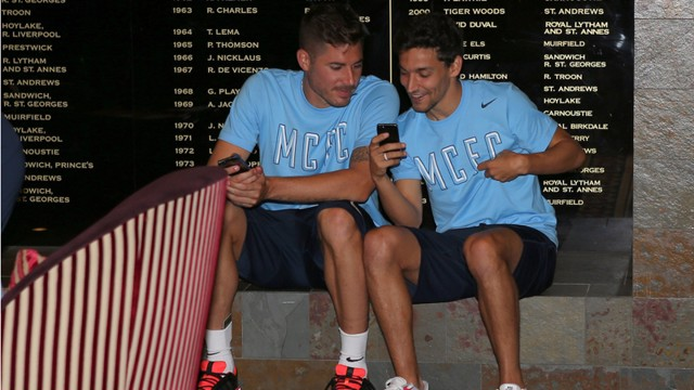 Obviously checking out mcfc.com