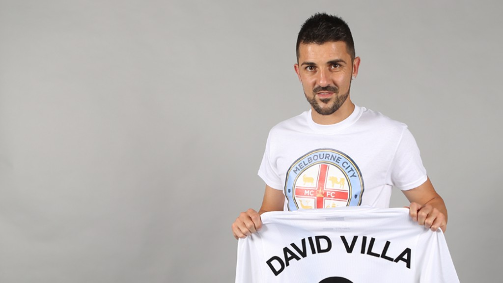 david villa melbourne city