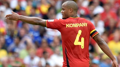 Kompany's Belgium hit six