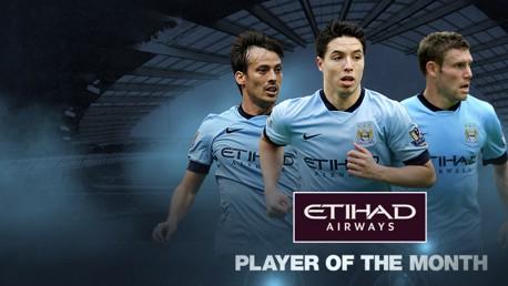 Mejor jugador del mes: Nominados de febrero