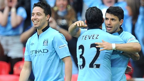 Tevez and Aguero go head-to-head