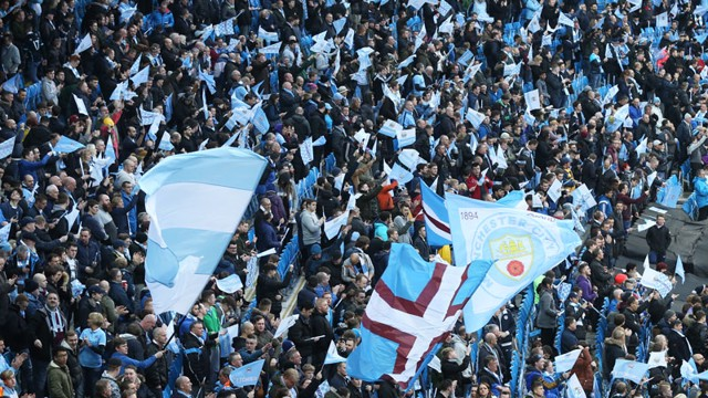 ETIHAD STADIUM: The only place to be on matchdays.