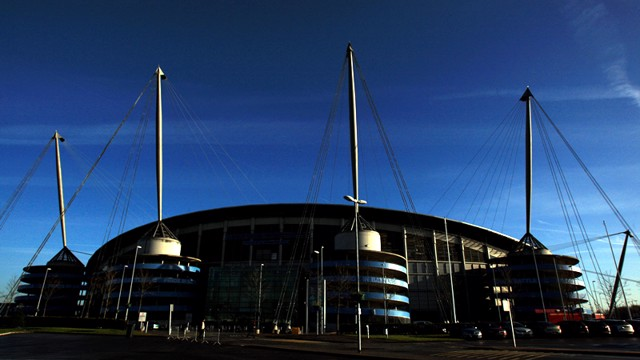 City of Manchester Stadium external shot