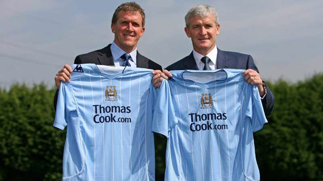 Gary Cook and Mark Hughes