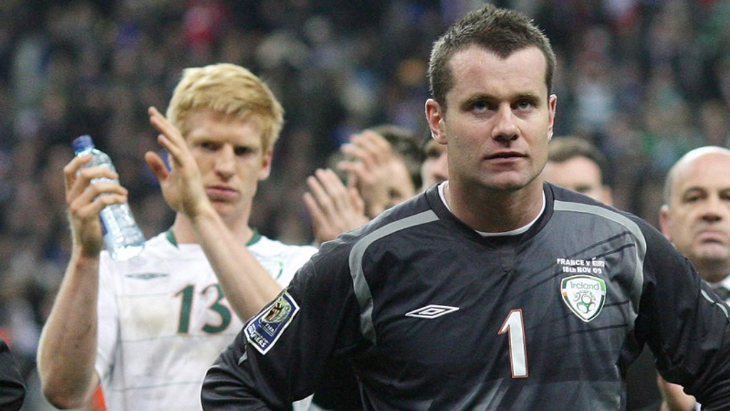 Shay Given in Paris