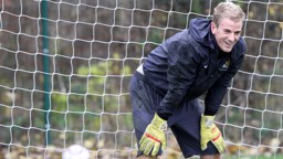 Joe Hart training