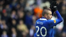 Weiss on loan at Rangers
