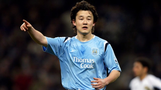 Sun Jihai Manchester City season 0506