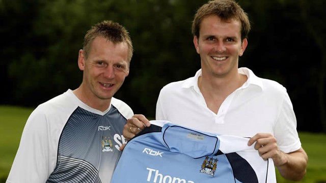 Dietmar Hamann and Stuart Pearce new signing 0607