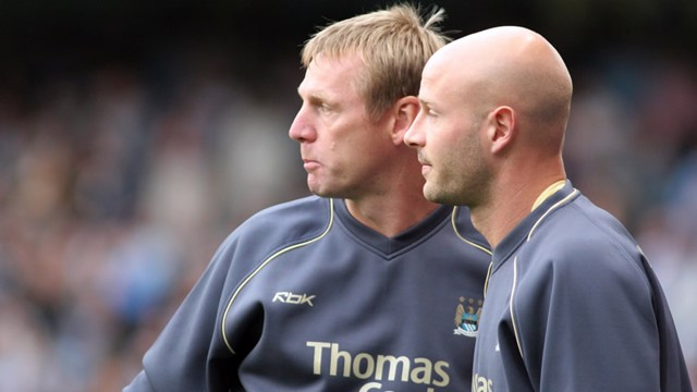 Stuart Pearce and Danny Mills 0607