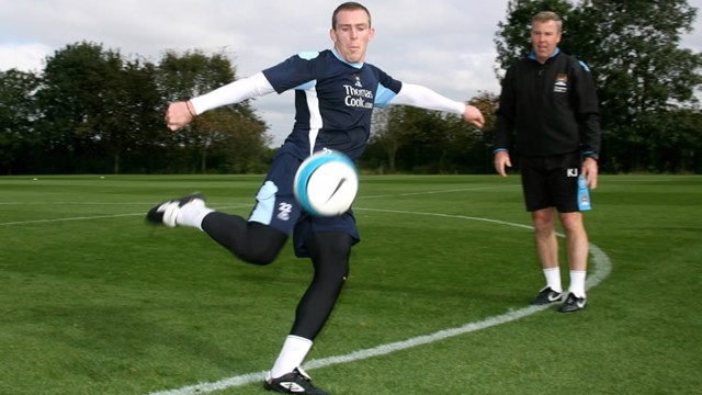 Richard Dunne training 0708