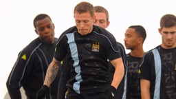 Craig Bellamy training 0809