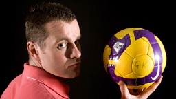 Shay Given with ball photoshoot 0809