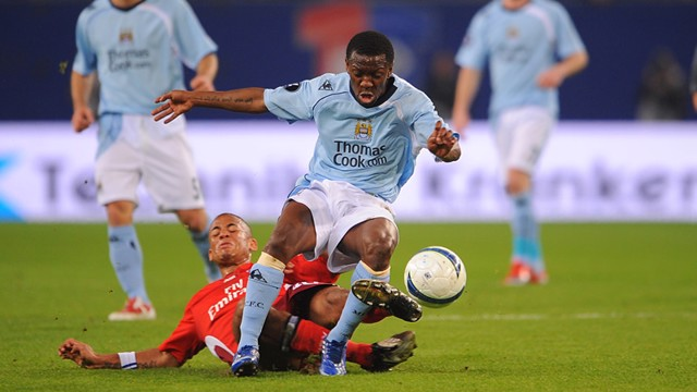Shaun Wright Phillips vs Hamburg 0809