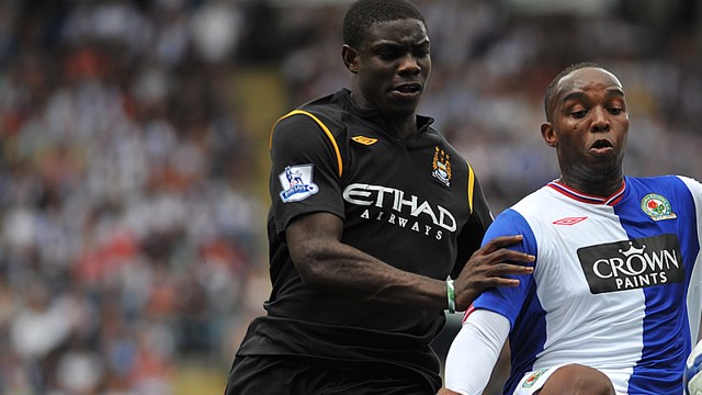 Micah Richards against Blackburn away 0910 season