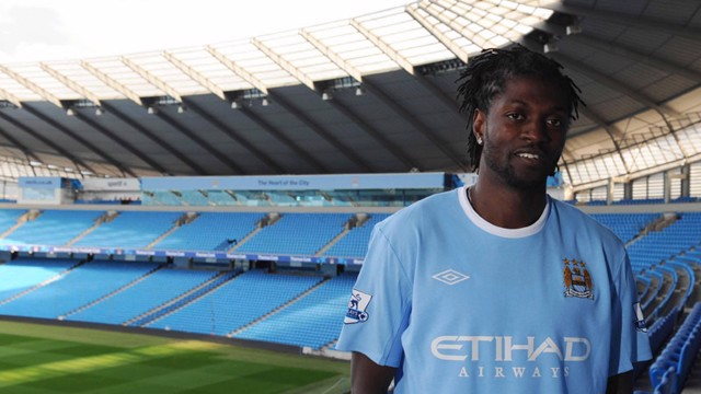 Adebayor signs for City