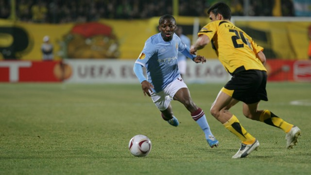 Wright-Phillips at Aris