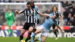Milner on the Ball Newcastle