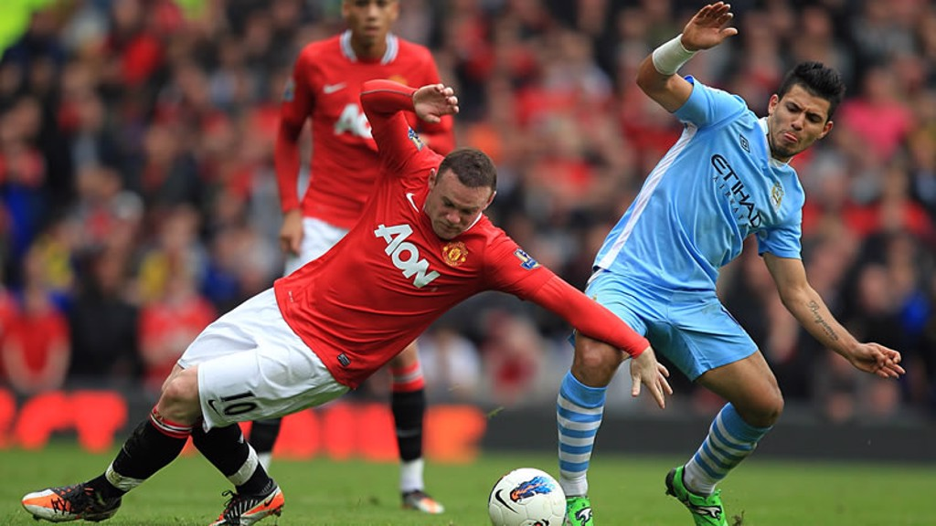 Aguero and Rooney