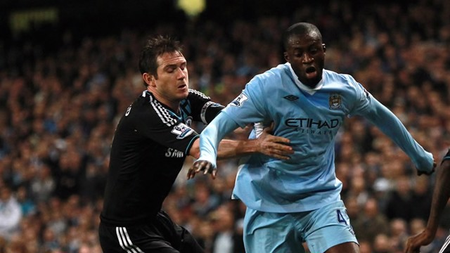 Yaya and Lampard