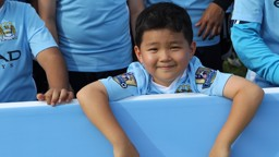 Local youngsters enjoyed the MCFC School of Football at the Royal Selangor Club in Bukit Kiara.