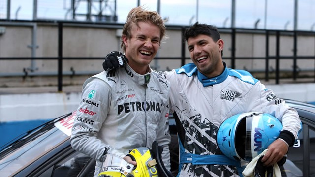 aguero and rosberg