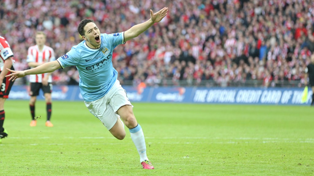 Samir Nasri's City highlights