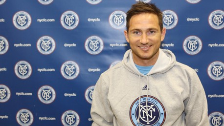Frank Lampard signe avec NYCFC