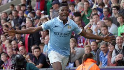 LAST TIME: Kelechi netted his first goal for the Club in this fixture last season.