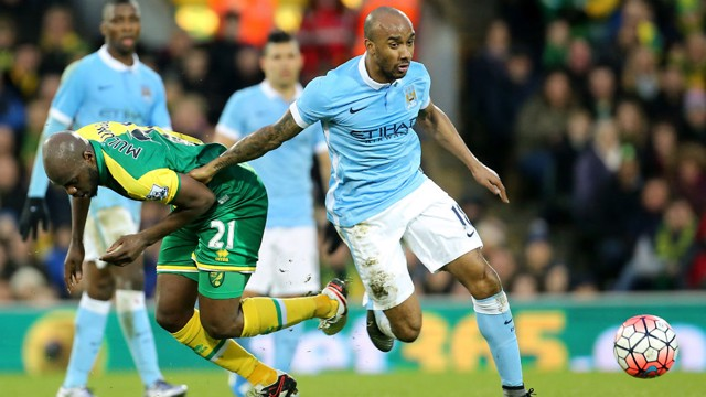 DRIVING FORCE: Fabian Delph