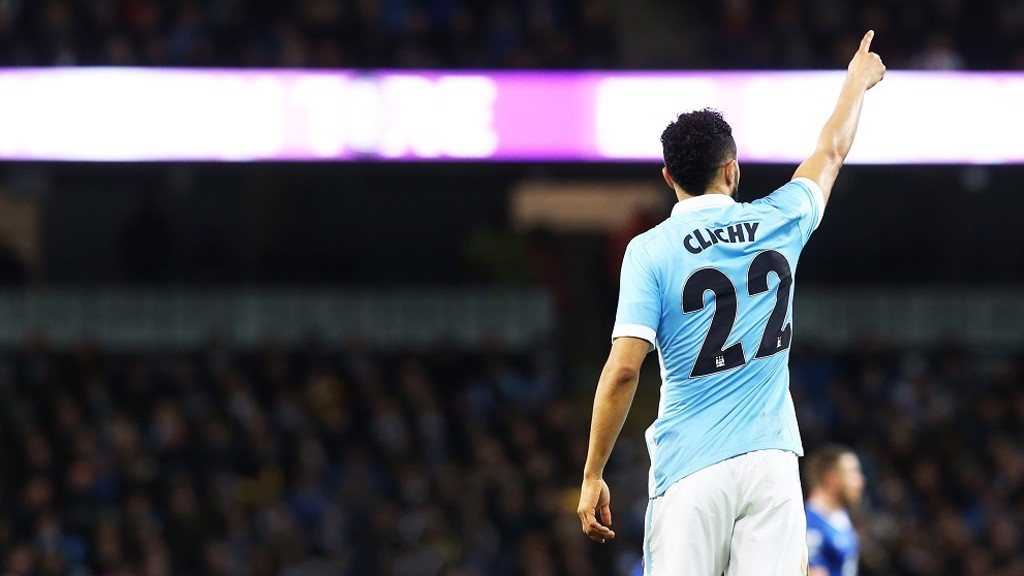 KICKER: Gael Clichy in action