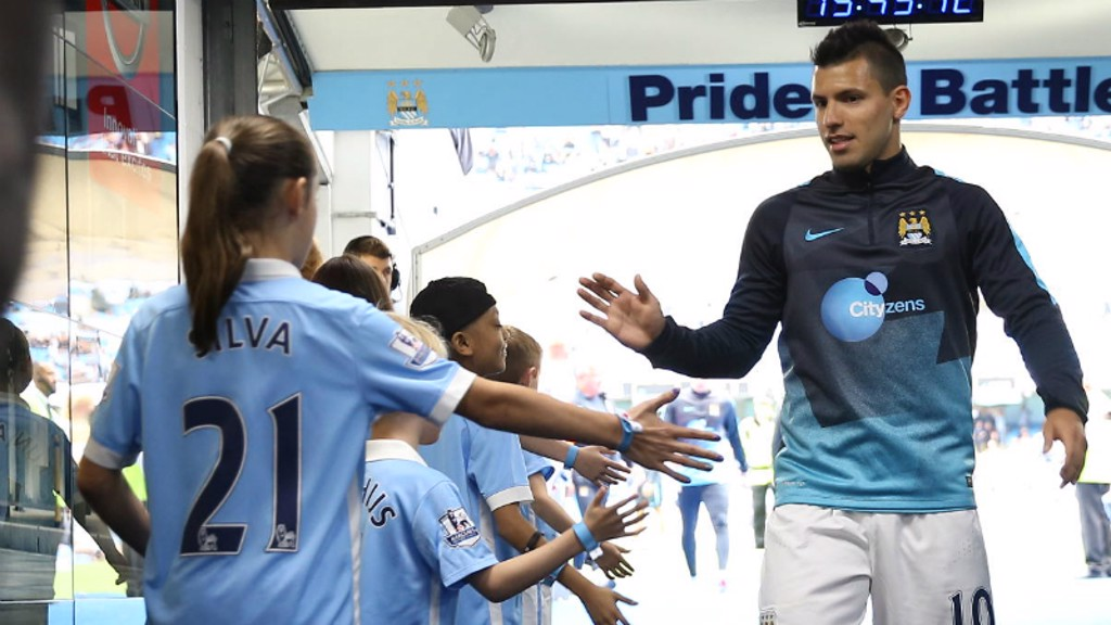 City v Liverpool: Tunnel Cam