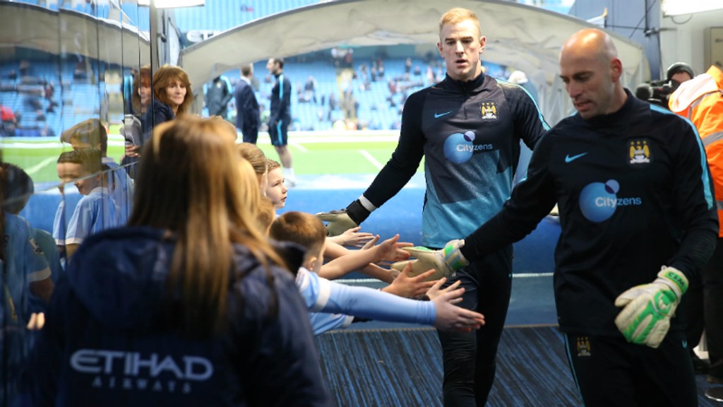City v Palace: Tunnel Cam