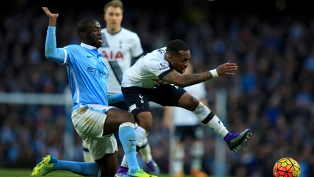 Spurs on the spot to sting City