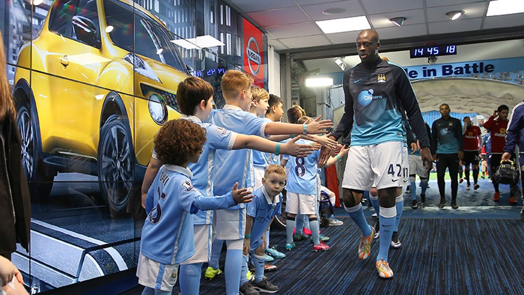 City v Sunderland: Tunnel Cam