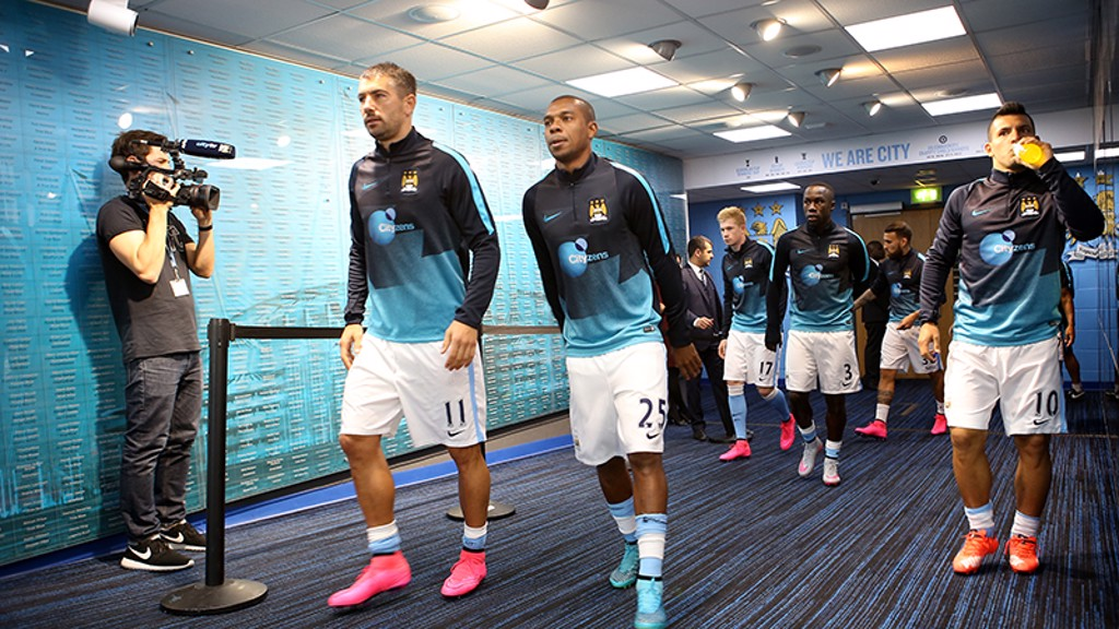 City v West Ham: Tunnel Cam