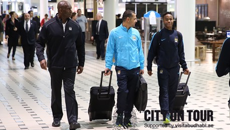 #cityontour Day Seven: Sterling arrives on the Gold Coast