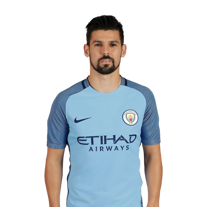 NOLITO: Manchester City Striker Squad 2016/17