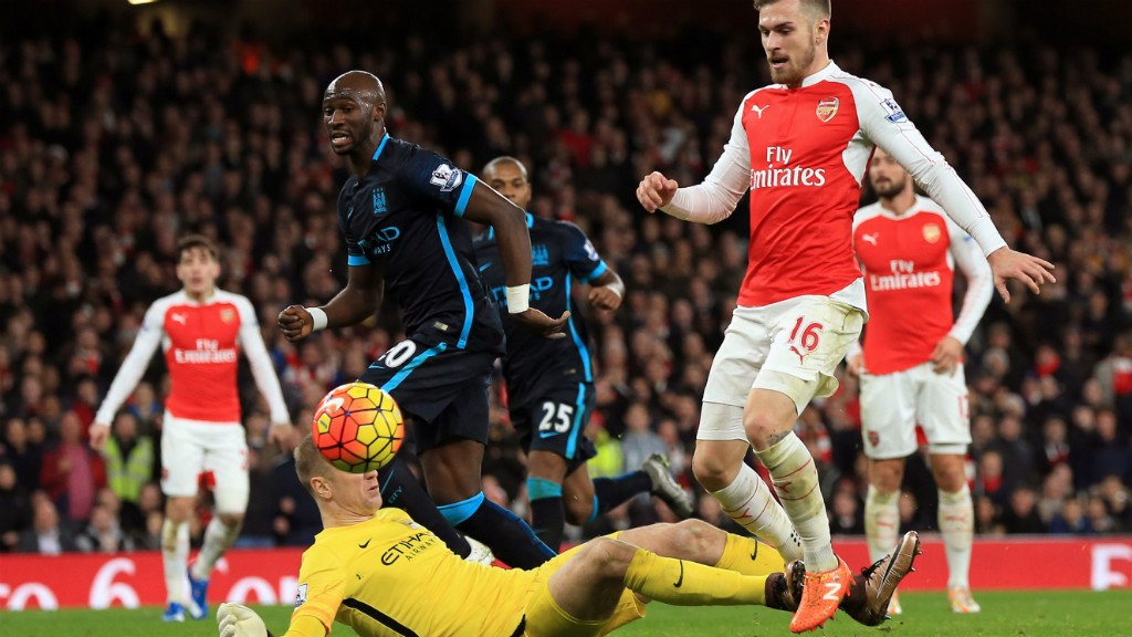 City v Arsenal: Brief Highlights