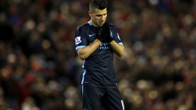 PAUSE FOR THOUGHT: Sergio Aguero