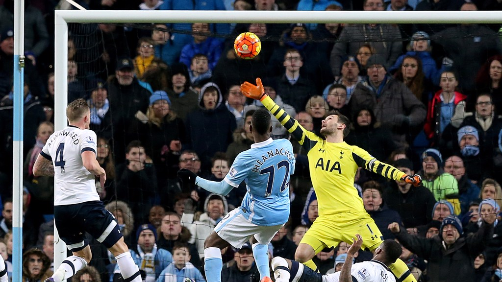 HIGH STAKES: Both City and Spurs are being billed as title contenders this season