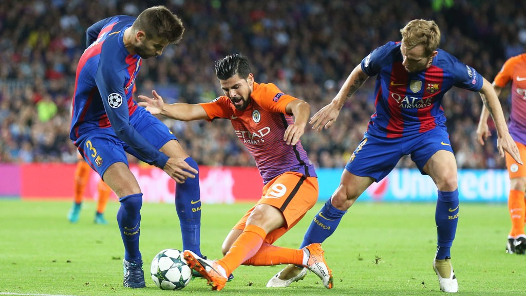 ACTION: Nolito on the ball