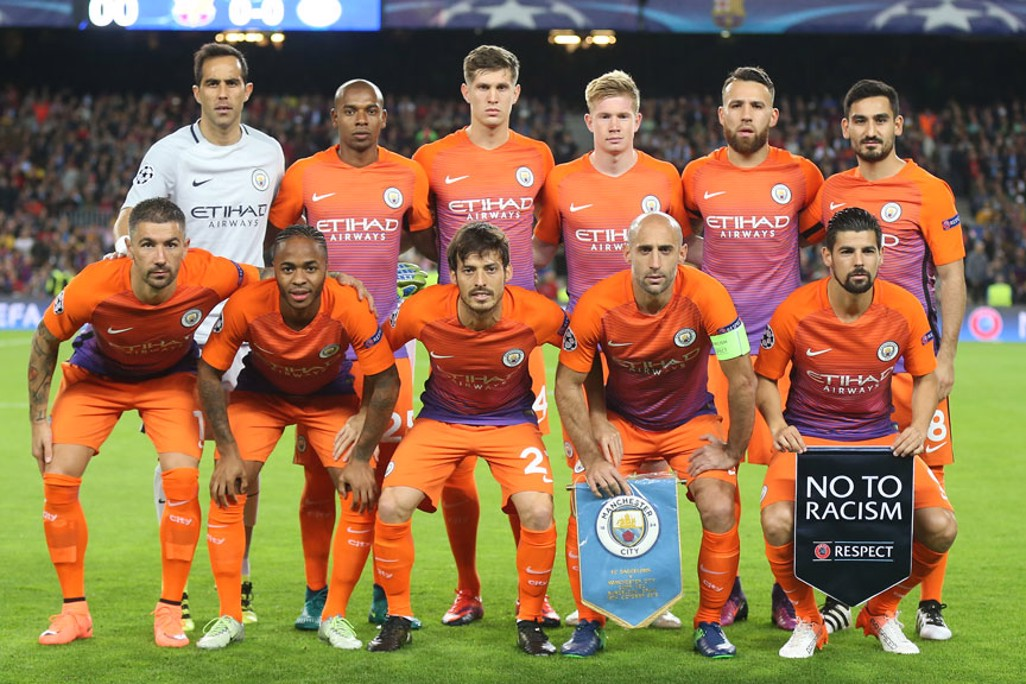 CITY: The starting eleven