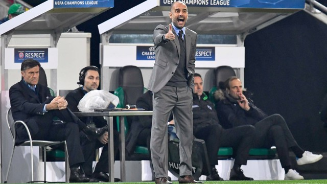 PEP: Guardiola directs City's latest attack