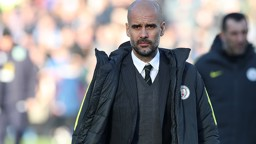 NEW TERRITORY: Guardiola surveys his surroundings