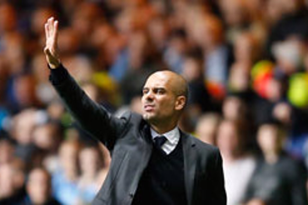 PEP: Manchester City manager Pep Guardiola asks for more from his team
