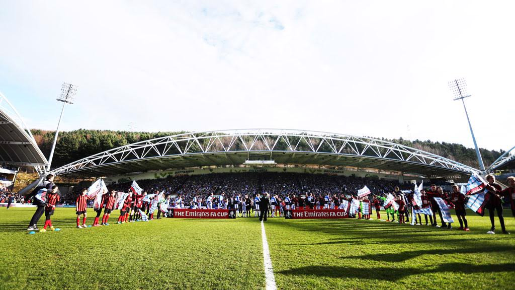 SUNKISSED: The John Smith's Stadium prior to kick off