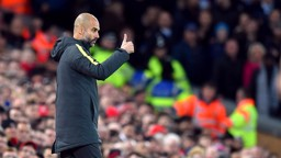 THUMBS UP: Pep happy with team's efforts