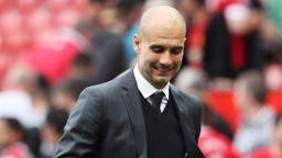 JOB DONE: Pep Guardiola after full time